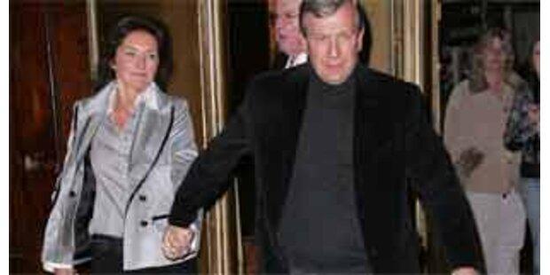 Sarkozys Ex Cecilia ist unter der Haube