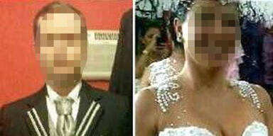 Bräutigam stirbt am Eingang zur Kirche