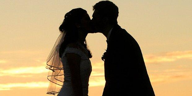 Lust am Heiraten sinkt deutlich