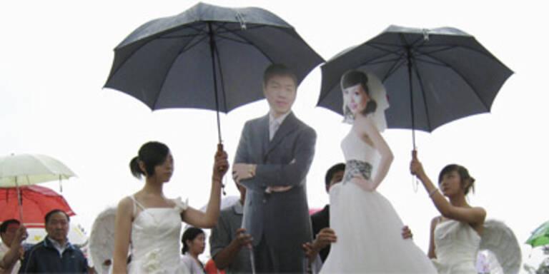 Posthume Hochzeit für Brautpaar in China