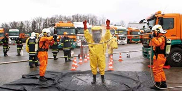Schon wieder 4 Verletzte durch Giftgas