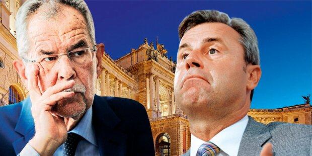 Hofburg-Wahl wird verschoben