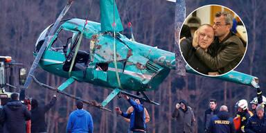 FPÖ-Chef Hofer war Zeuge von Hubschrauber-Absturz