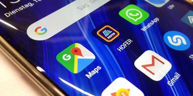 Nur Hofer hält mit Google und WhatsApp mit
