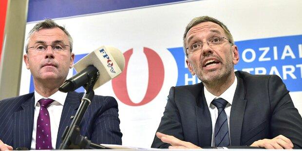 Opfert FPÖ für Türkis-Blau Kickl?