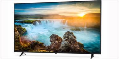 Hofer bringt riesigen 4K-Fernseher