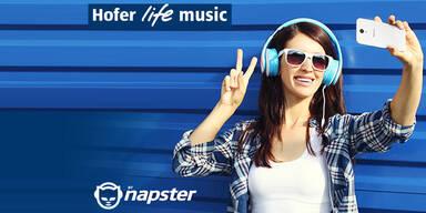 Hofer startet eigenen Spotify-Gegner