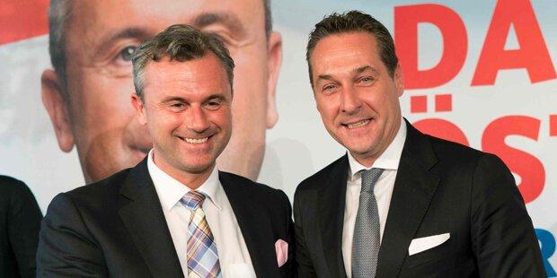Optimistisch: FPÖ plant bereits für Regierungsarbeit
