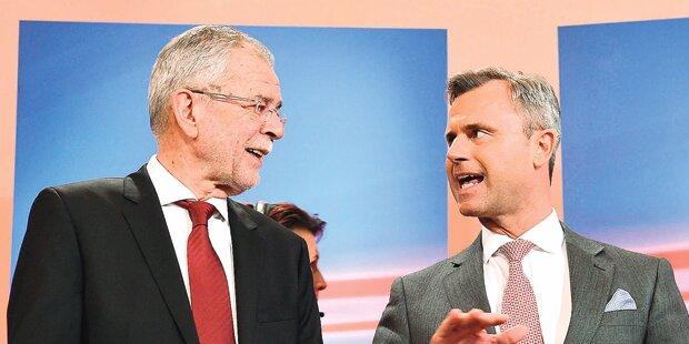 Hofburg-Wahl: Jetzt wird's brutal
