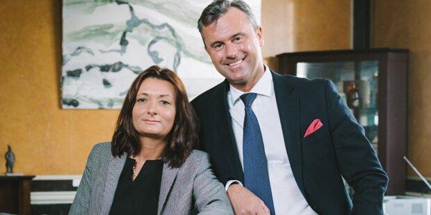 Norbert Hofer mit Liebesgeständnis an seine Frau
