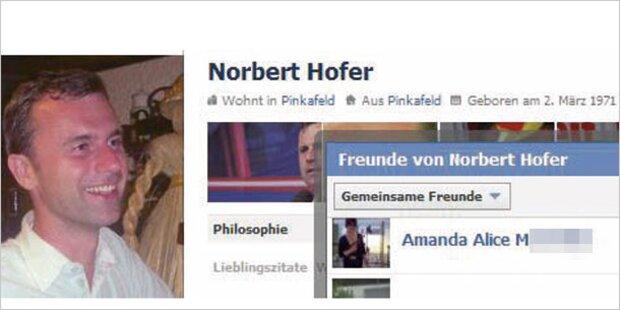 FPÖ-Hofer mit Neonazi