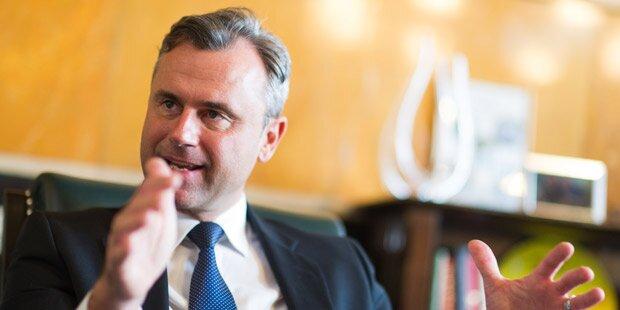 Hofer: Regierung bei Steuererhöhungen entlassen