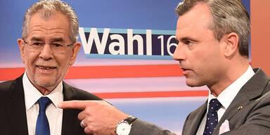 Hochrechner prognostizieren: Van der Bellen wird Wahl gewinnen