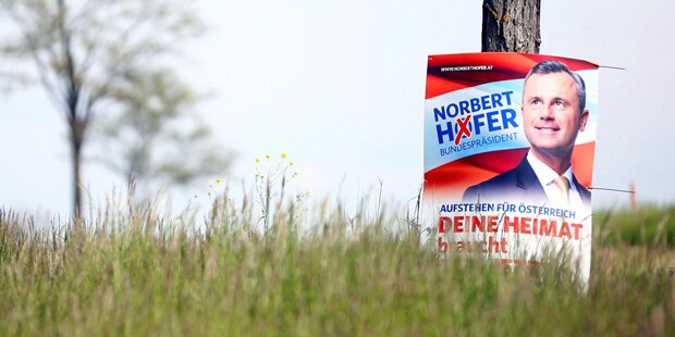 Hofburg-Wahl: FPÖ gab am meisten aus