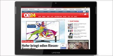 Neues FullHD-Tablet von Hofer im Test