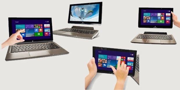 Hofer bringt einen Tablet-Notebook-Hybrid