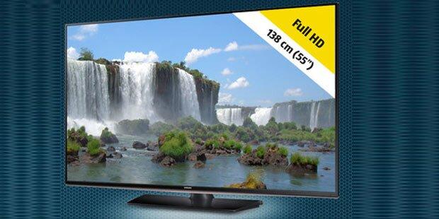 Hofer bringt großen Samsung Flat-TV