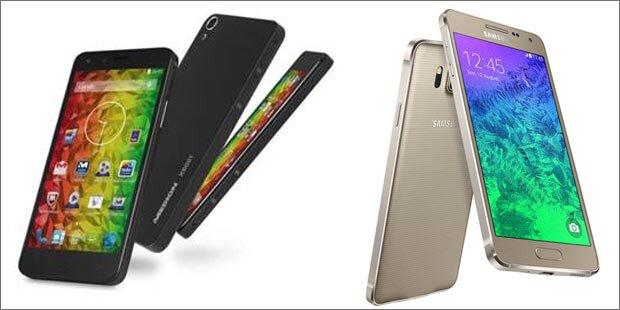 Hofer greift mit Top-Smartphones an