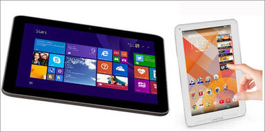Hofer bringt Android- & Windows-Tablets