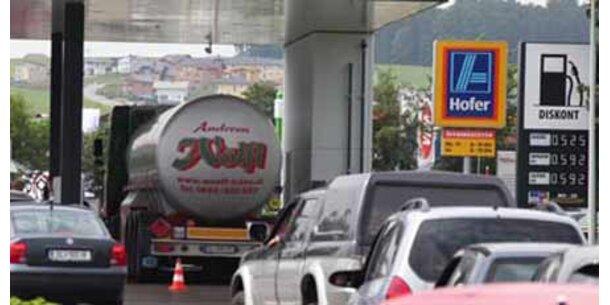 Benzinpreise in Salzburg wieder höher