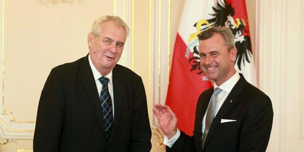 Tschechiens Premier kritisiert Hofers Union-Vorschlag