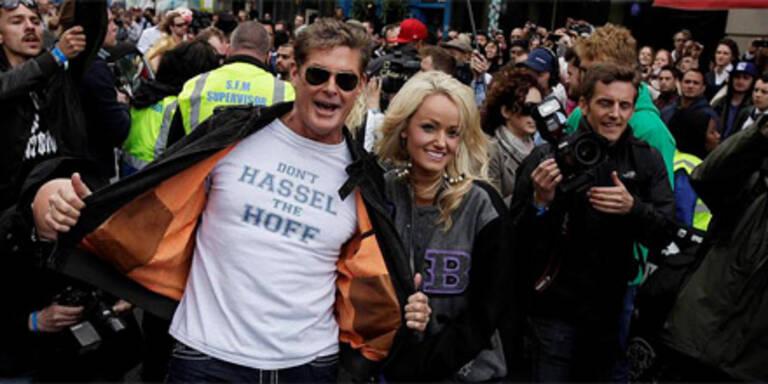 David Hasselhoff ließ Autonarren frei