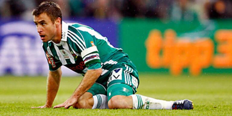 Saisonende für Rapids Steffen Hofmann