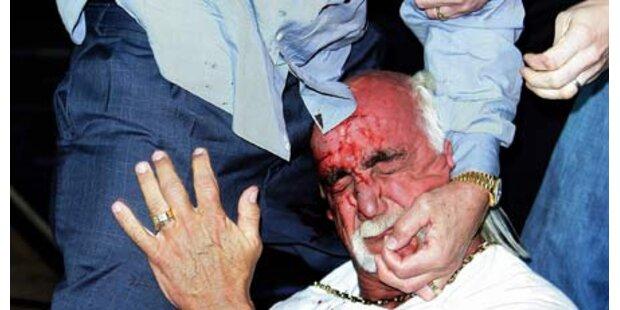 Blut-Attacke auf Hulk Hogan war nur Show