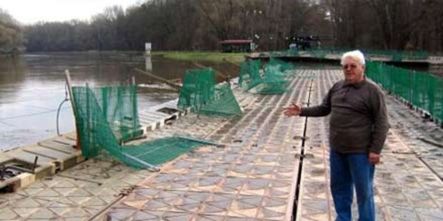 Hochwasser - Grenzübergänge in NÖ gesperrt
