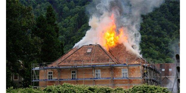 Brand in denkmalgeschützter jüdischer Schule