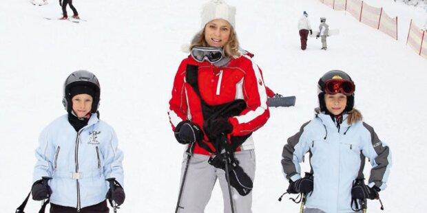 Rodeln und Skifahren in ganz Wien