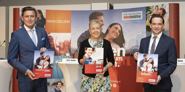 Wien Holding mit bester Bilanz ihrer Geschichte