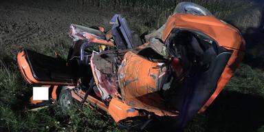39-Jähriger stirbt bei Horror-Crash in NÖ