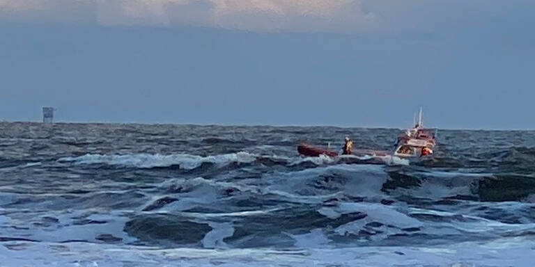 Surfer Drama Nordsee