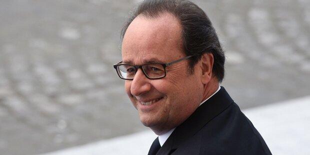 Hollande verteidigt seinen Luxus-Friseur