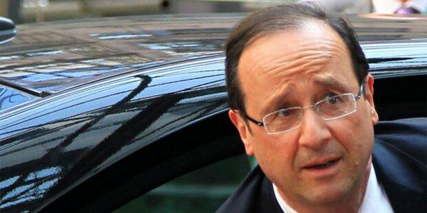 Weniger Gehalt für Frankreichs Präsident