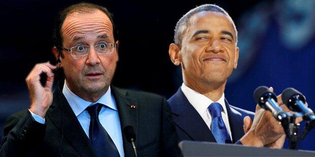 Peinlich: Hollande patzt bei Brief an Obama