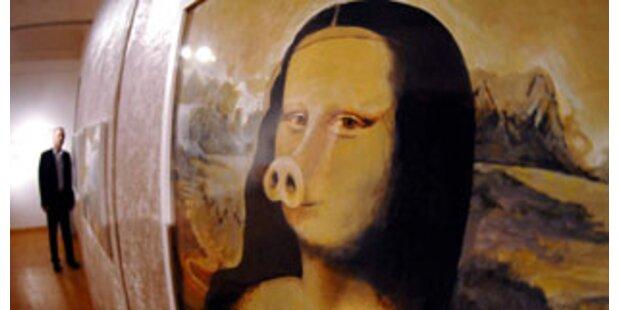 Skandal um Schweine-Bild des Wiener Malers Holm