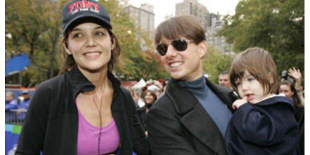 Katie Holmes rannte New Yorker Marathon