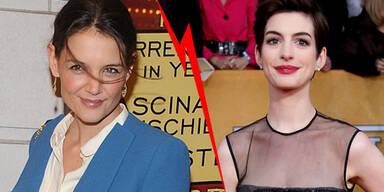 Anne Hathaway, Katie Holmes