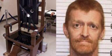 Mörder wählt freiwillig elektrischen Stuhl in Tennessee