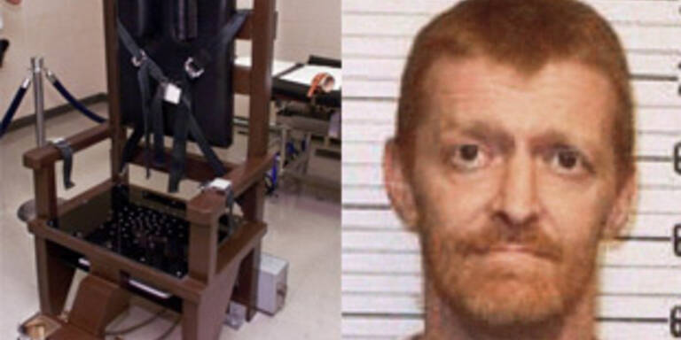 wählt Tennessee Mörder freiwillig Stuhl elektrischen in TKlF1Juc3