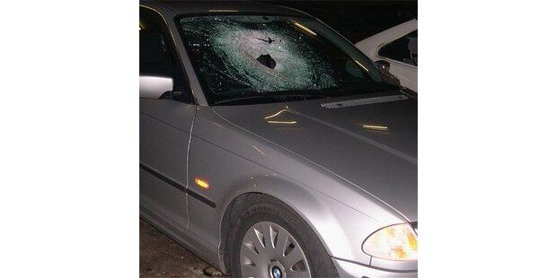 Irrer wirft Holzklotz auf Autobahn - Mutter tot