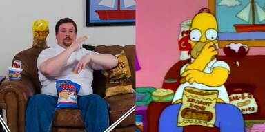 So sieht Homer Simpson im echten Leben aus!
