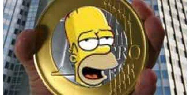 1-Euro-Münze zeigt Homer Simpson statt Juan Carlos