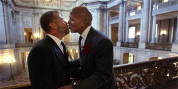 Vorerst keine Homo-Ehen in Kalifornien