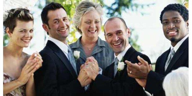 Homo-Ehe: Wien wirbt mit Traumhochzeit