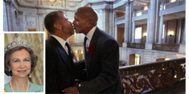 Spaniens Königin kritisiert die Homo-Ehe