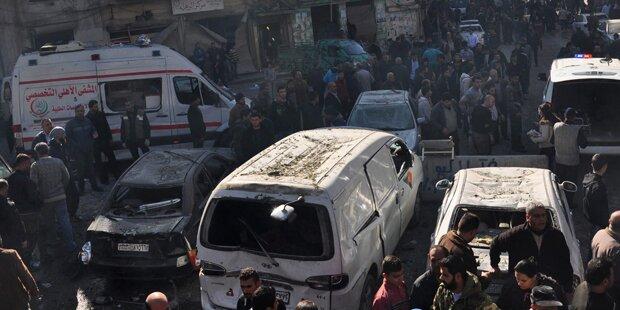 Bombenanschlag in Homs: Mehr als 15 Tote