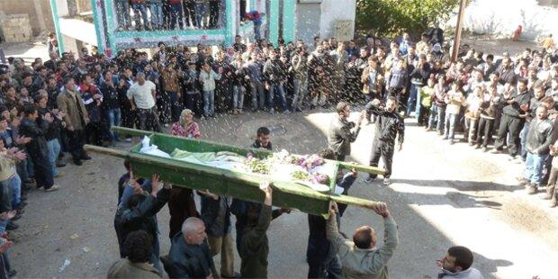 18 Tote bei Kämpfen im syrischen Homs